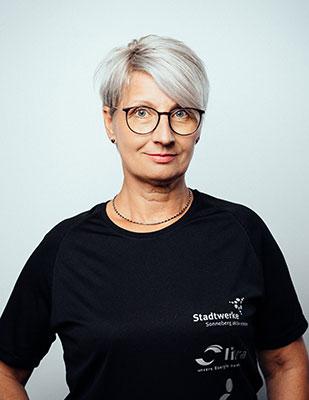 Übungsleiterin Kati Nimz