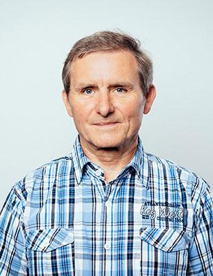 Übungsleiterin Theo Hoke